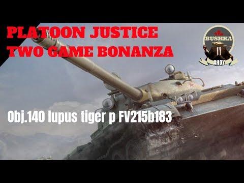 LUPUS-T62A-Tiger P-wz113 Platoon gameplay World of Tanks Blitz thumbnail