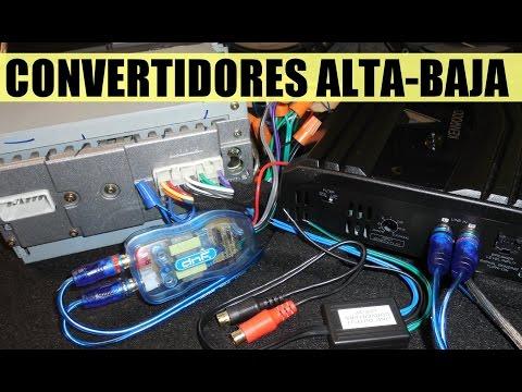 Tips para conectar un amplificador a autoestereo original (version sencilla)