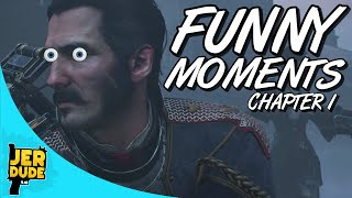 Girlfriend, Breathing Problems & More FUNNY MOMENTS: Chapter 1! (The Order 1886 Gameplay)