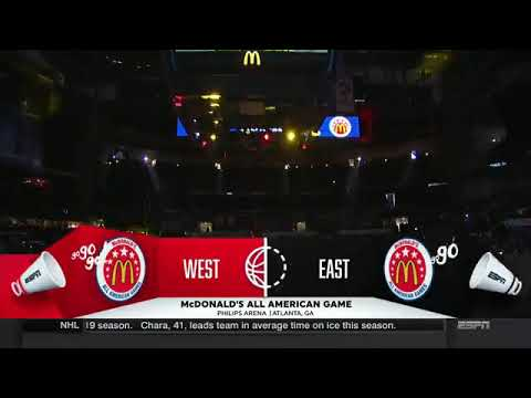 2018 Mcdonald's All-American Full Game Highlights
