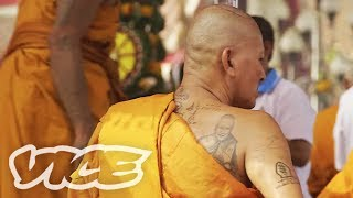 タイでタトゥーに取り憑かれる?! - Possessed By Ink: Thai Tattoo Festival