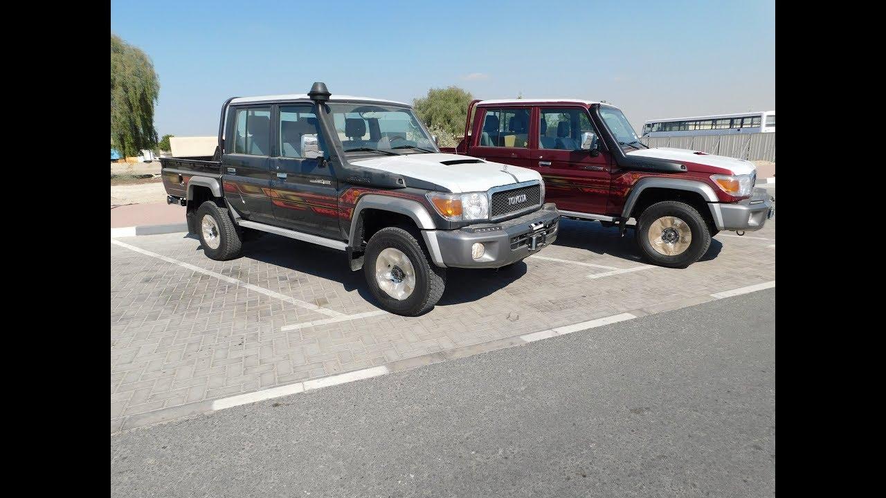 2019 toyota land cruiser full option limited pickup in dubai