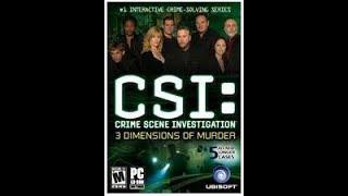 🎮Elgatostreamer1982  Let`s Play CSI: CRIME SCENE INVESTIGATION 3 DIMENSIONS OF MURDER CASE 6