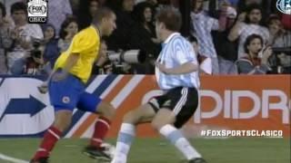 RECUERDO! ARGENTINA 1 COLOMBIA 1 EN LA BOMBONERA! eliminatorias 98