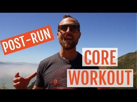 Post Run Strength &  Core Workout