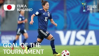Fuka NAGANO - GOAL OF THE TOURNAMENT Nominee