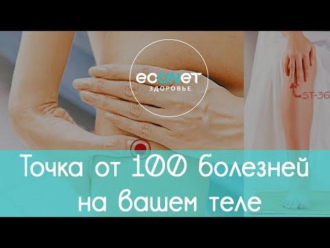 ТОЧКА ДОЛГОЛЕТИЯ: точка от 100 БОЛЕЗНЕЙ на вашем теле | Econet. Ru