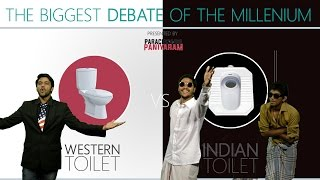 Western Toilet Vs Indian Toilet | Paracetamol Paniyaram