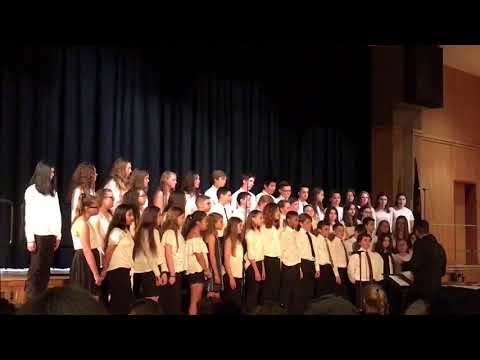 Wantagh Middle School 7th Grade Chorus. You Can't Stop the Beat. 5/24/18