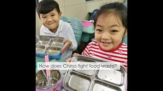 How does China fight food waste