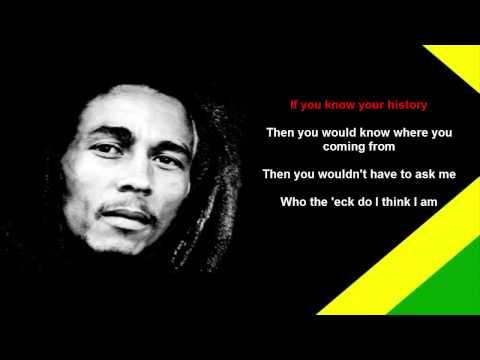Bob Marley - Buffalo Soldier [LYRICS]