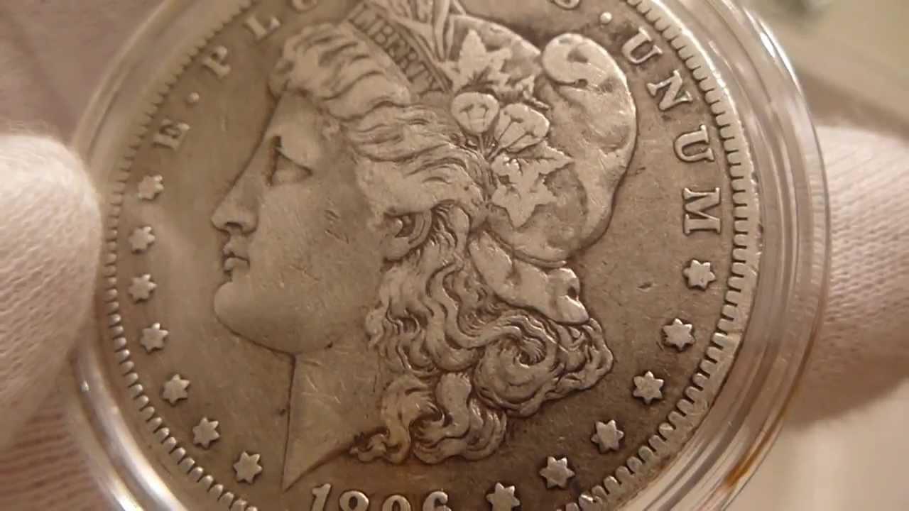 1896 O Morgan Silver Dollar Coin Review Youtube