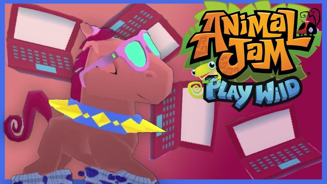 Animal Jam Play Wild | Speed Decorating Den & Buying Items ...