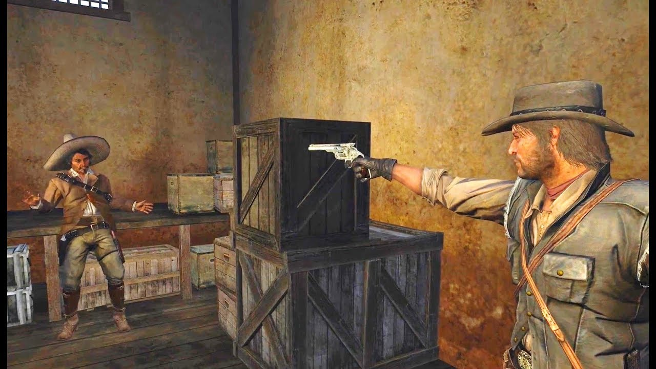 Marston Finds And Captures Javier