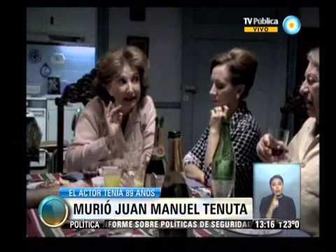 v7 2013 11 06 Murió Juan Manuel Tenuta