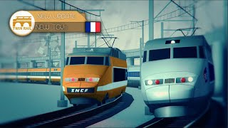 JE CONDUIT UN TRAIN SUR ROBLOX TERMINAL RAILWAYS