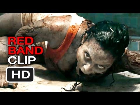 Evil Dead Red Band CLIP - Why Would You Do That? (2013) - Horror Movie HD
