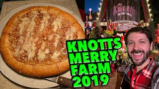 Knotts Merry Farm 2019! I Ate Everything! Plus Shows, Crafts, & More! Vlogmas Day 11
