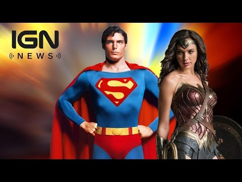 Wonder Woman Movie Inspired By Christopher Reeve