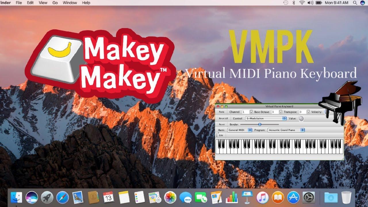 Instalación VMPK PIANO (Virtual MIDI Piano Keyboard) For MAC - Makey Makey