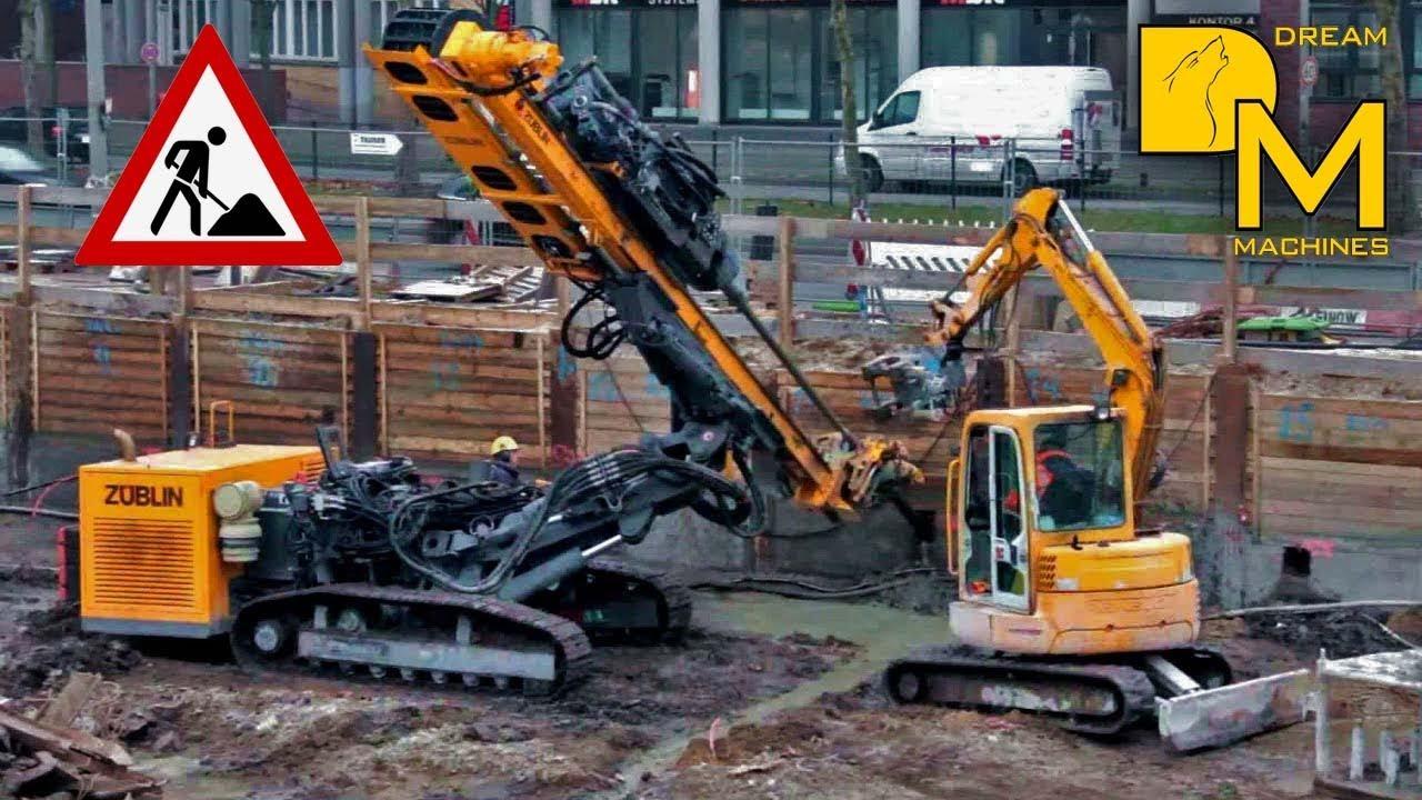 Tracks For Vehicles >> Bohrgerät Klemm KR 806-5F Züblin drill rig on tracks pile ...