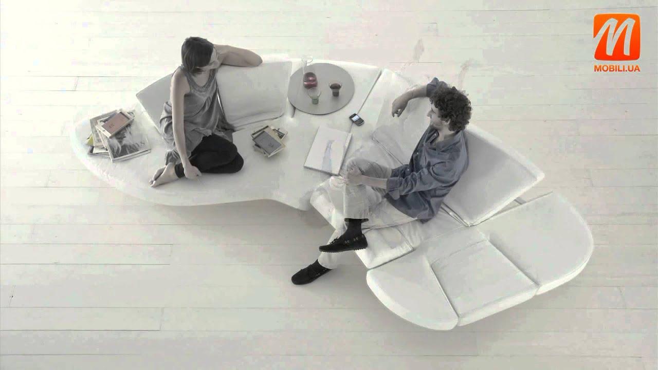 Надувной диван Intex 68566 (новая версия модели) - YouTube