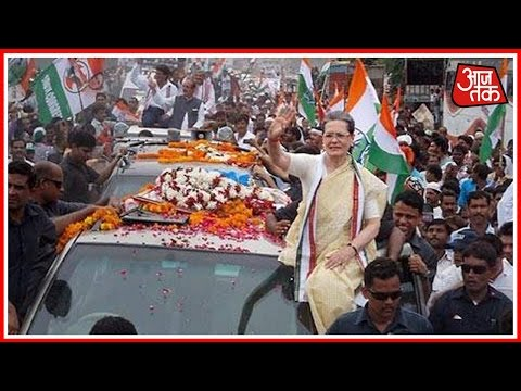 Sonia Gandhi Falls Ill Midway Through Packed Varanasi Roadshow