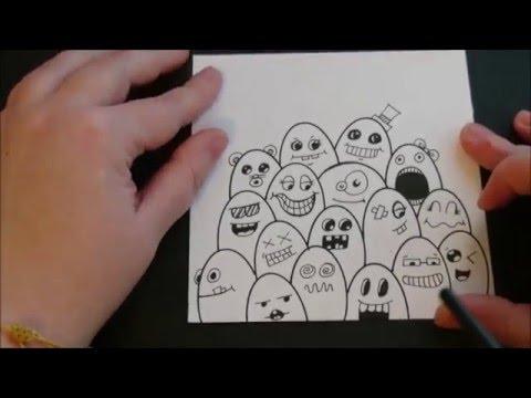 Lukisan Doodle Youtube