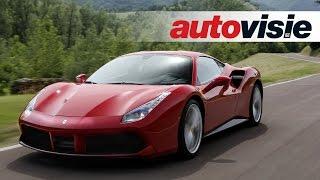 Ferrari 488 GTB - review by Autovisie TV