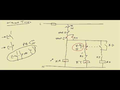 دورة التحكم الآلى الدرس السابع عشر دوائر التحكم ستار دلتا مع المحاكاه star delta control circuits