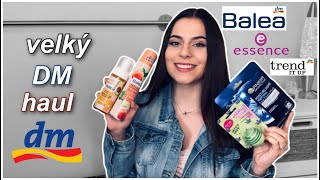 Velký haul z drogérie DM - Balea, Essence, Trend It Up | Lucy