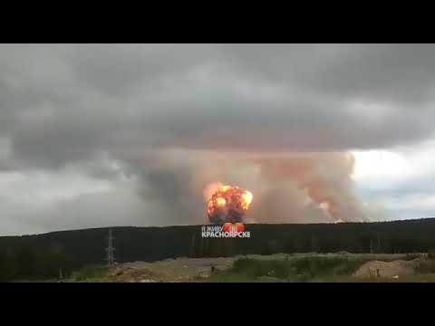Режим РФ произвел малый ядерный взрыв в Ачинске.