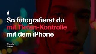 So fotografierst du mit Tiefen-Kontrolle mit dem iPhone – Apple