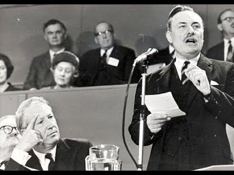 Edward Heath and Enoch Powell
