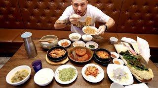 24 Hour Korean BREAKFAST Restaurant 14 Items! + Busan Tower | Busan, South Korea