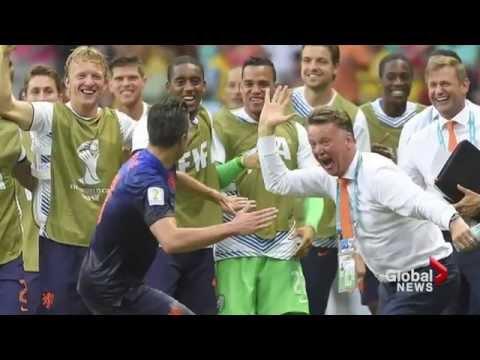 World Cup: Van Persie goal goes viral