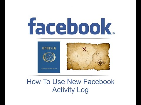 How To Use New Facebook Activity Log