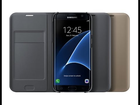 huge selection of a7ad5 43578 Samsung Flip Wallet for Galaxy J7 pro - Quick Unboxing