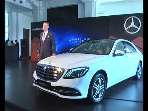 Benz new car NEW S Class car launch in Chennai