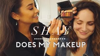 Smashbox Eyeshadow Tutorial (On Sammy!) | Shay Mitchell