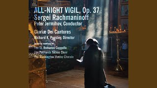 All-Night Vigil, Op. 37: No. 3, Blessed Is the Man