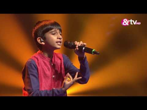 Vishwaprasad Ganagi - Jhanak Jhanak- Liveshows - Episode 22  - The Voice India Kids