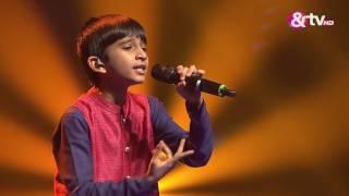 Vishwaprasad Ganagi - Jhanak Jhanak- Liveshows - Episode 22  - The Voice India Kids