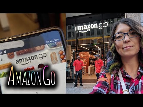 STEALING STUFF FROM THE AMAZON GO STORE?! | Tech With Shannon Morse