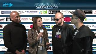 DIRETTA...mente da Sanremo:Amscat & Mauro Catalini Feat. Lenin & William