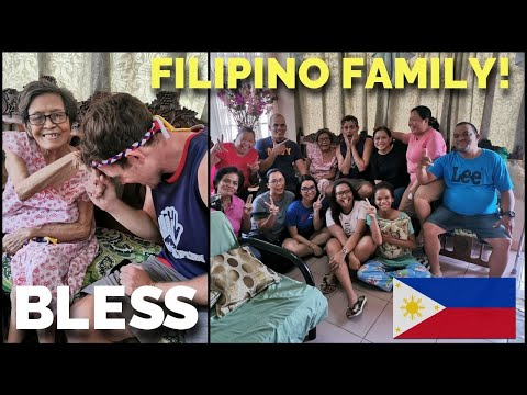 SURPRISED HER IN THE PHILIPPINES (Meeting Filipino Family In Davao)