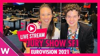 Eurovision 2021:  Semi-Final 1 Jury Show Livestream