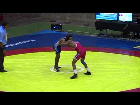 2013 Commonwealth Championships: 66 kg Final Terry Van Rensburg (RSA) vs. Amit Dhanter (IND)