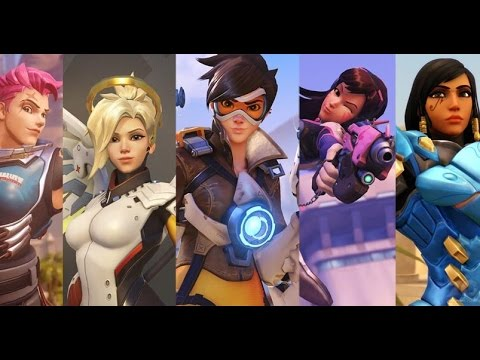 Overwatch All Animated Shorts Movie With The Last Bastion / All Cinematic Story Trailer