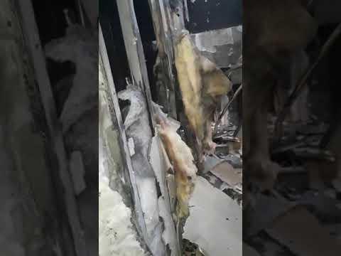 """Видео изнутри сгоревшего отеля """"Токио Стар"""""""
